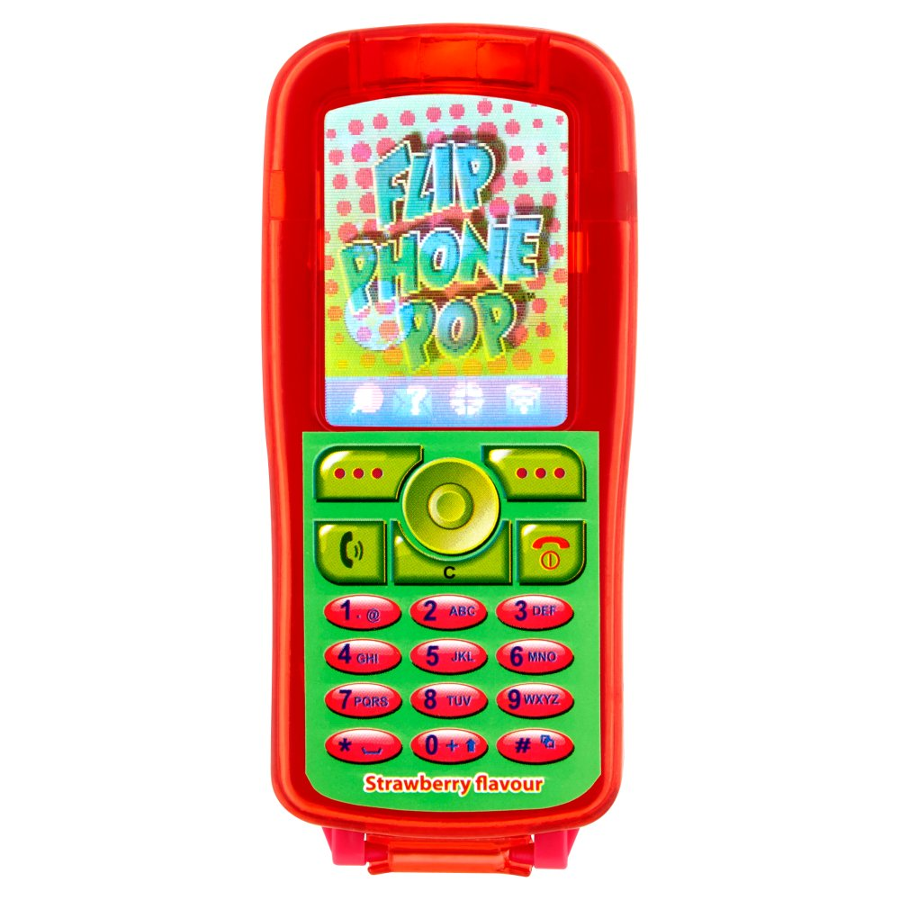 Kidsmania Flip Phone Pop Lollipop