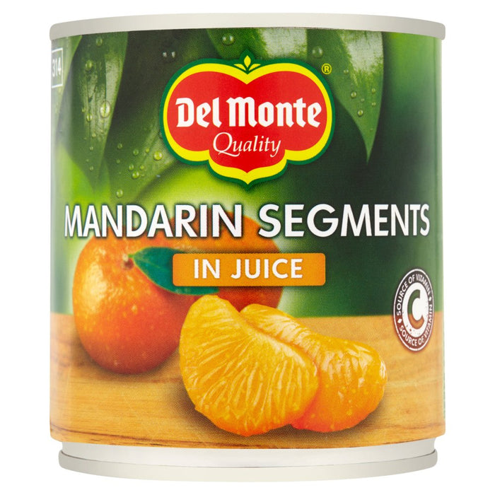 Del Monte Mandarin Segments in Juice