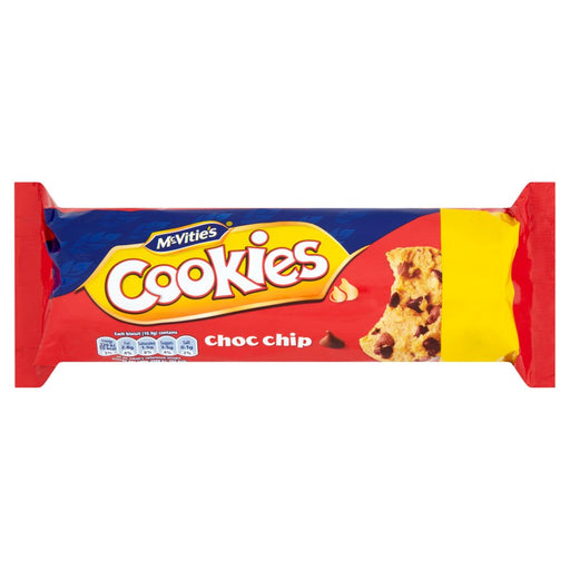 McVitie's Choc Chip Cookies, 150g (Box of 12)
