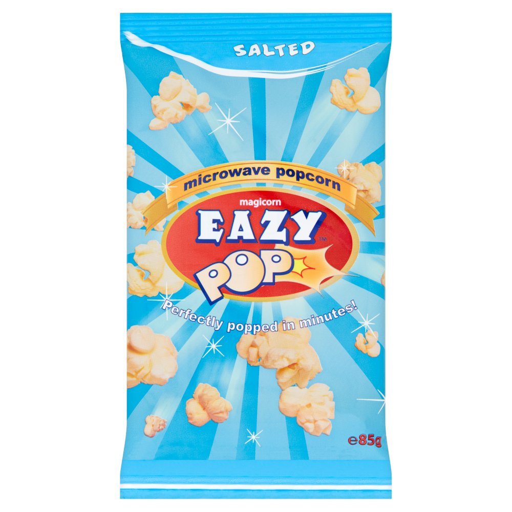 Salted Microwave Popcorn