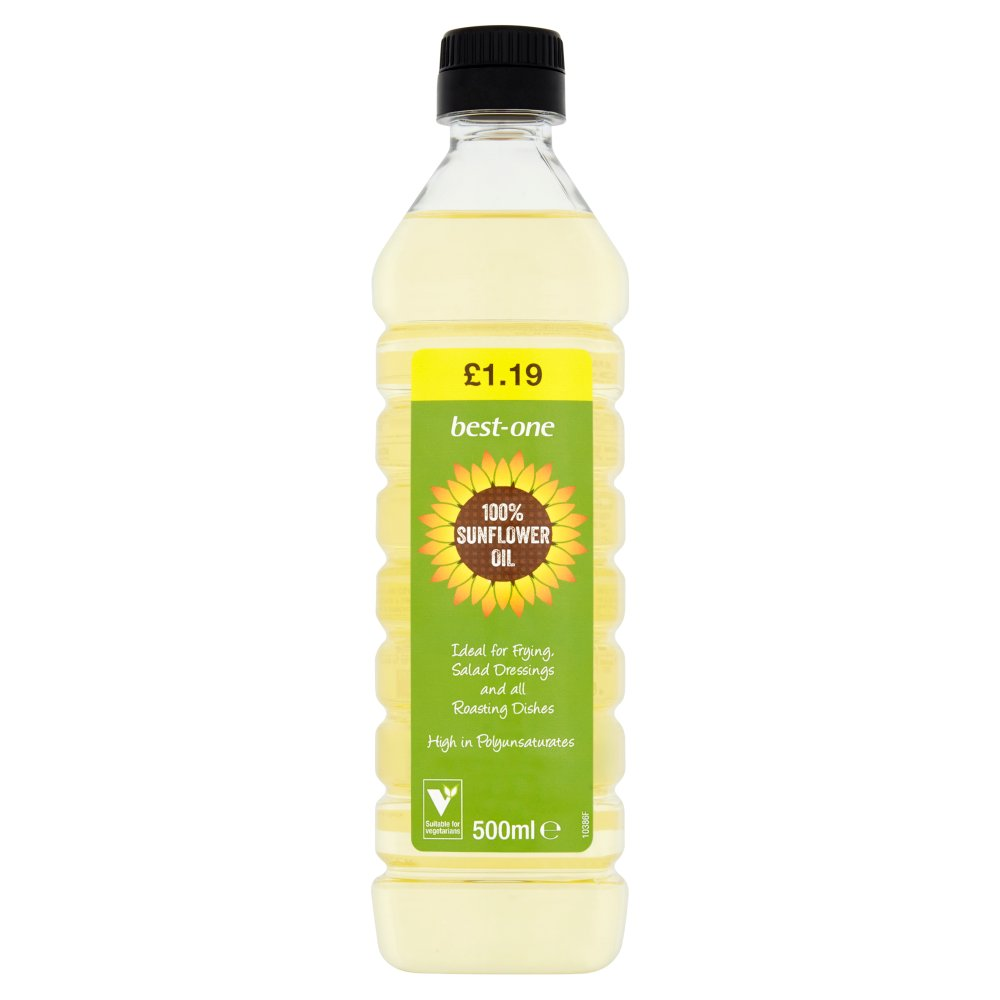 Best-One 100% Sunflower Oil 500ml