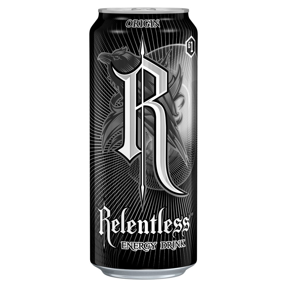 Relentless Original Energy Drink, 500ml (Case of 12)