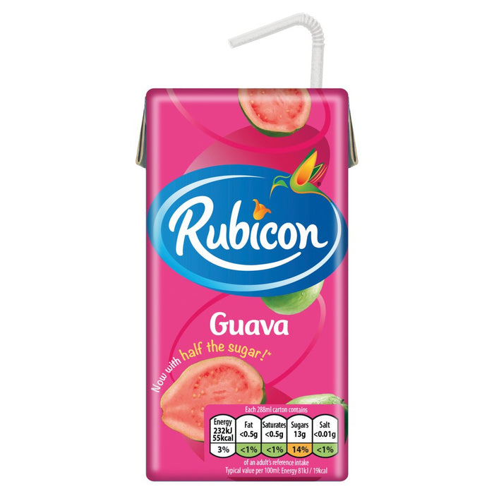 Rubicon Guava Juice, 288ml (Case of 27)