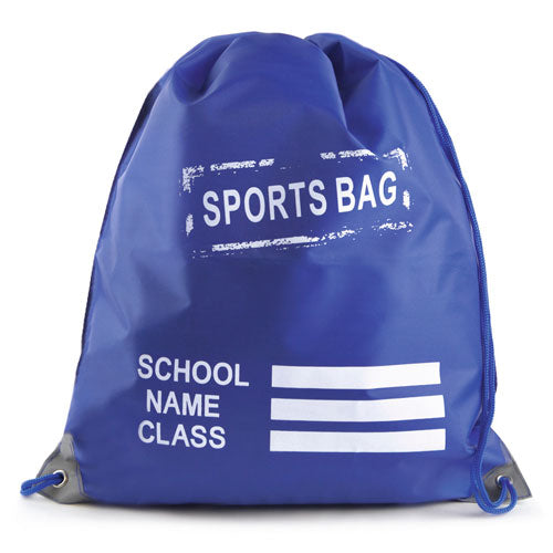 Sports Pump Bag Royal Blue