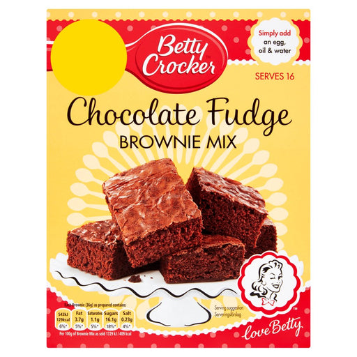 Betty Crocker Chocolate Fudge Brownie Mix, 415g