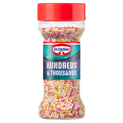 Dr. Oetker Hundreds & Thousands, 65g (Case of 6)
