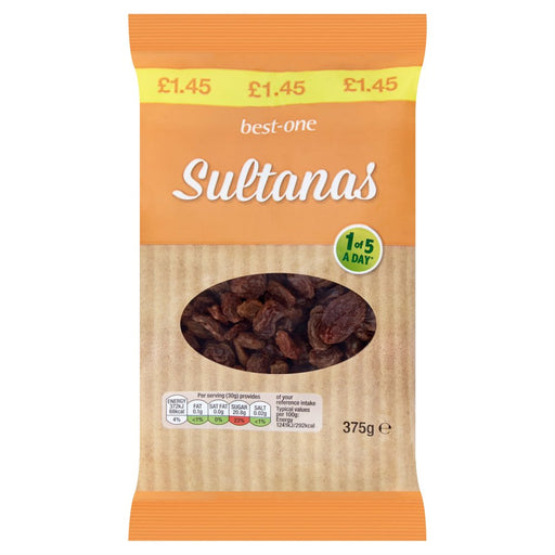 Best-One Sultanas, 375g