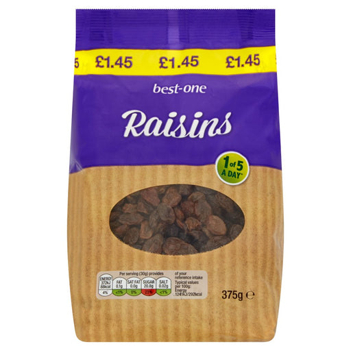 Best-One Raisins 375g