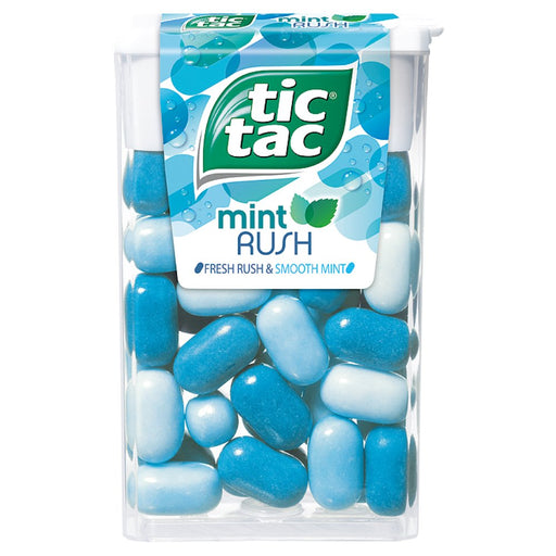 Tic Tac Mint Rush Intense, 18g (Box of 24)