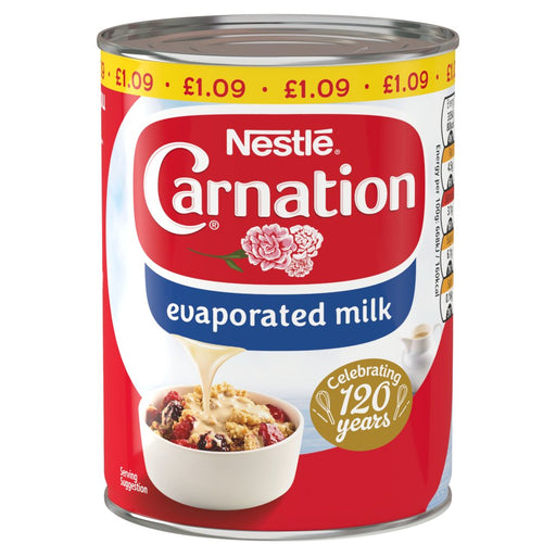 Carnation Evaporated Milk, 410g