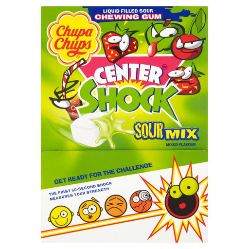 Chupa Chups 200 Center Shock Sour Mixed Flavours, 800g