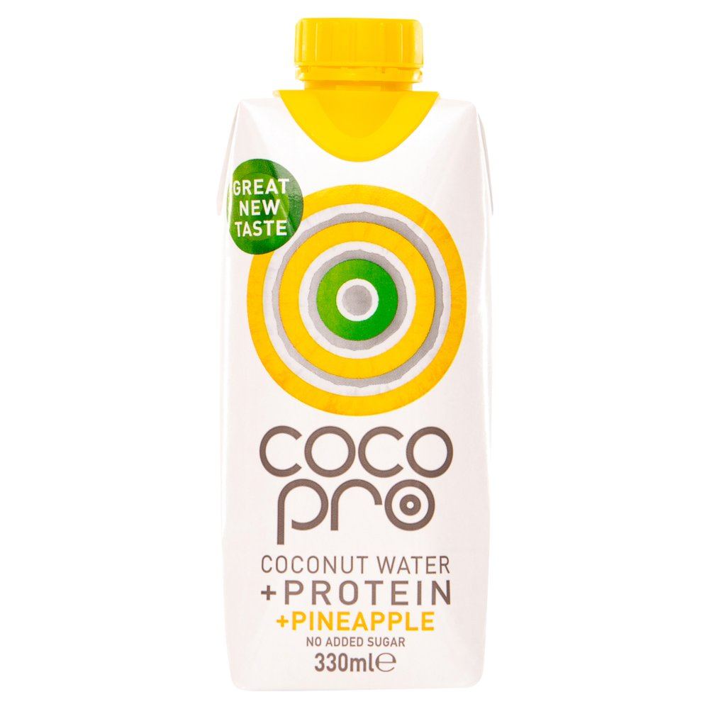 Cocopro-High Protein Coconut Water With Pineapple