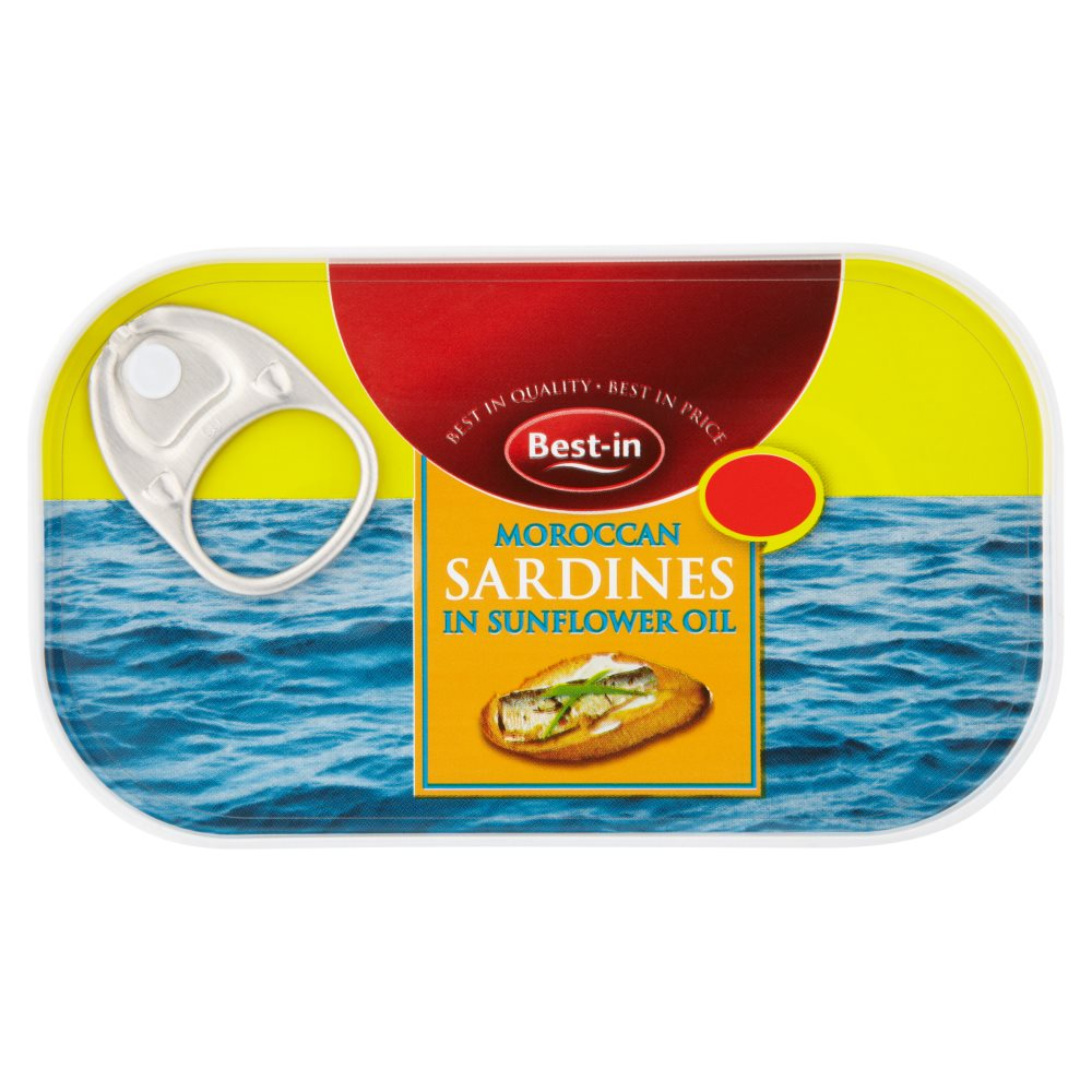 Bestin Sardines In Sunflower Oil