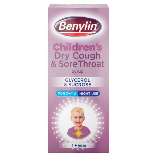 Benylin Child Blackcurrant Dry Cough
