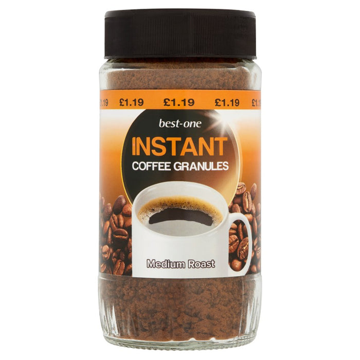 Best-One Instant Coffee Granules Medium Roast 100g