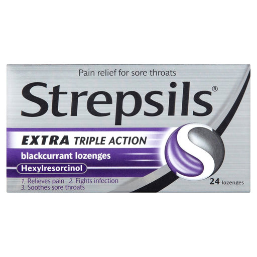 Strepsils Extra Triple Action