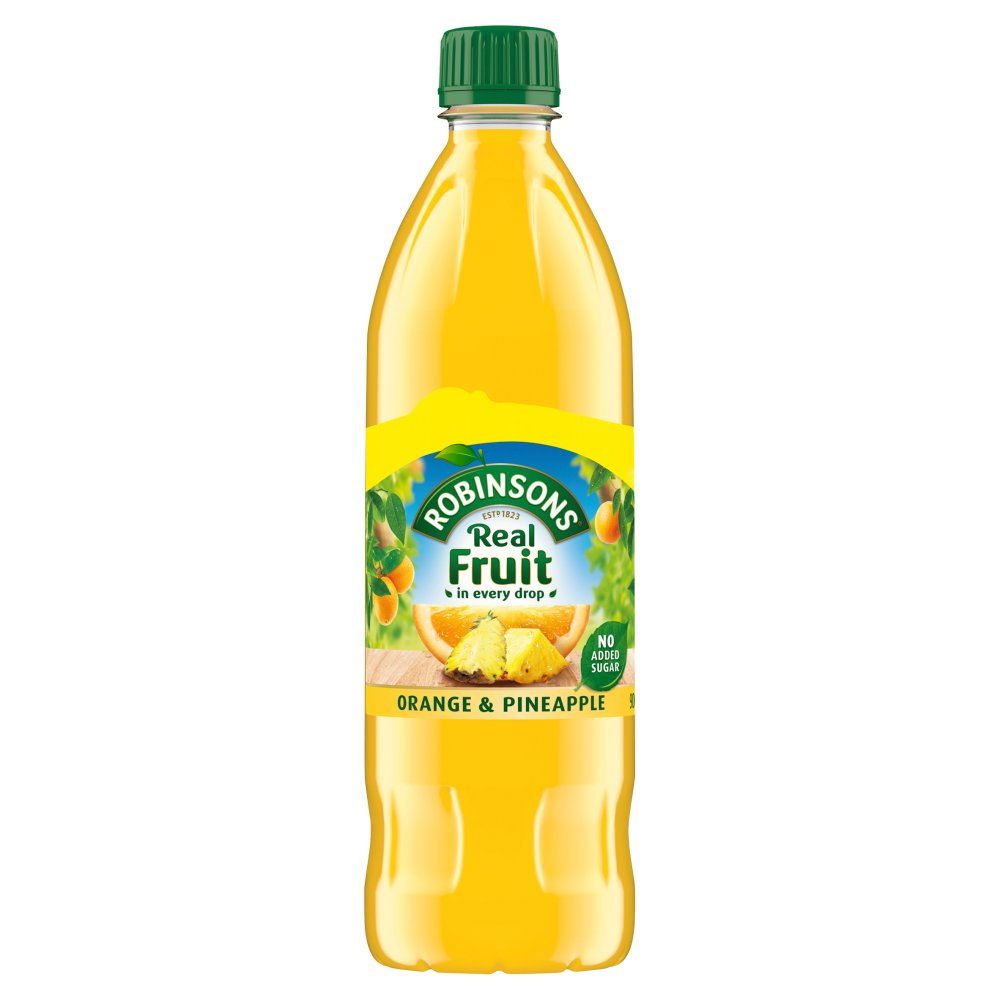 Robinsons Orange & Pineapple 900ml, No Added Sugar