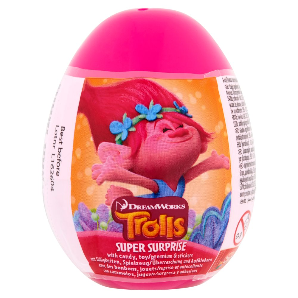 Surprise Egg Trolls With Candy And Toy