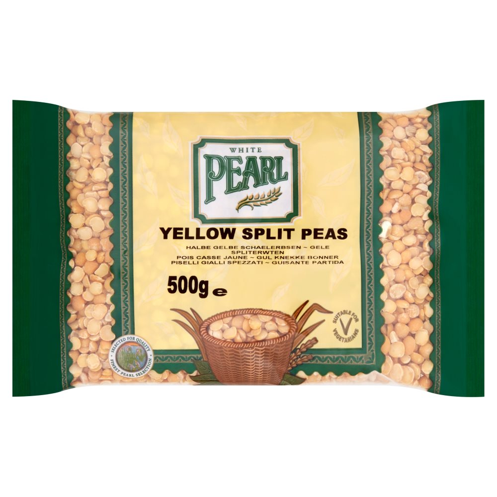 White Pearl Yellow Split Peas