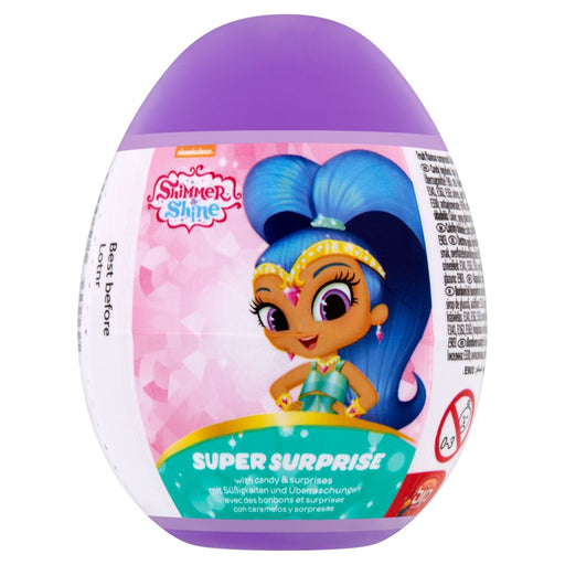 Shimmer & Shine Super Surprise Egg, 10g (Box of 18)