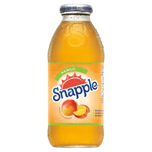 Snapple Mango, 473ml (Case of 12)
