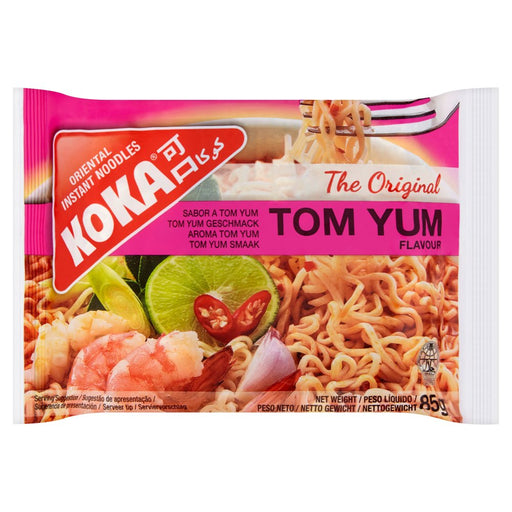 Koka Tom Yum Oriental Instant Noodles, 85g (Box of 30)