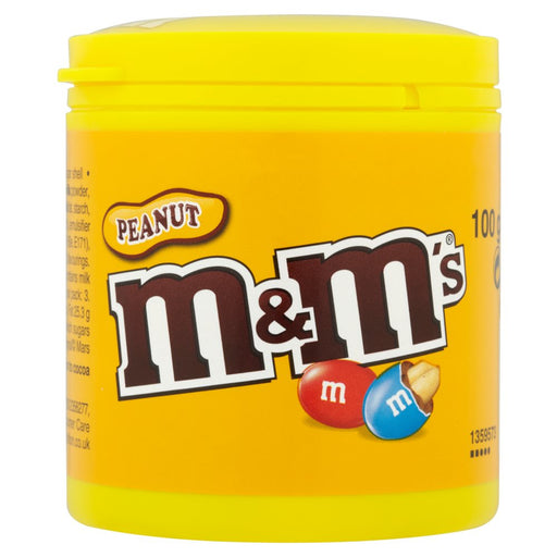 M & M Peanut Bottle