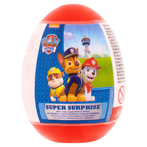 Surprise Egg Paw Patrol With Candy And Toy