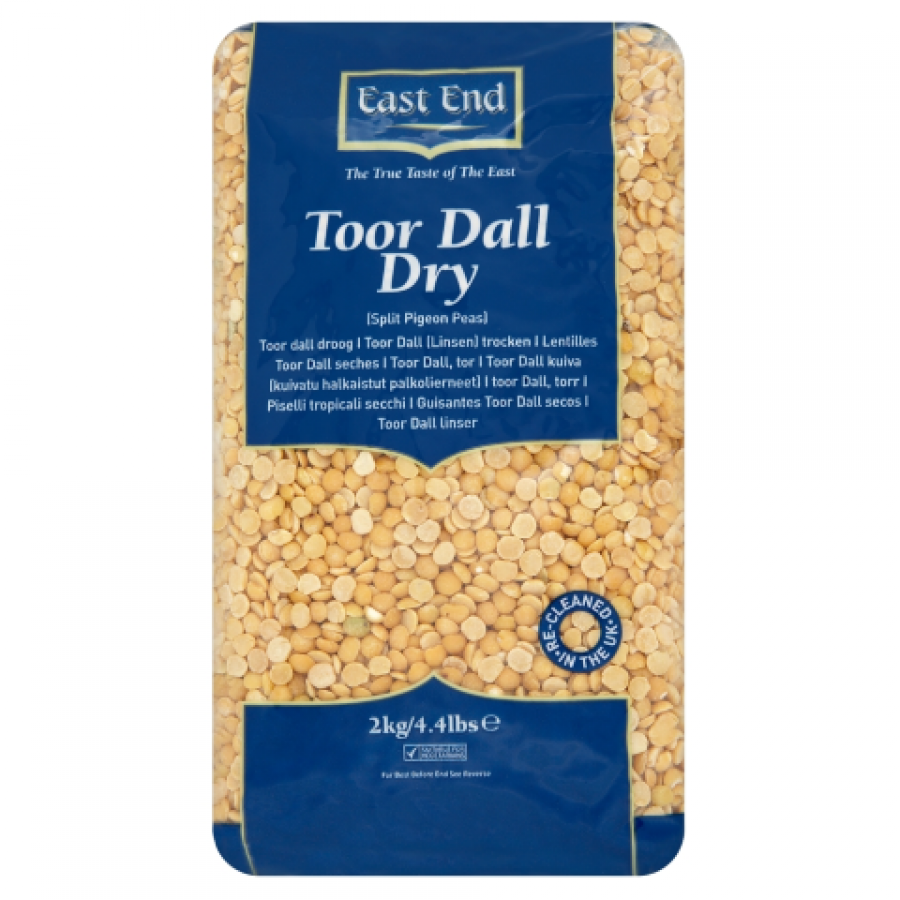 East End Toor Dall Dry 500g