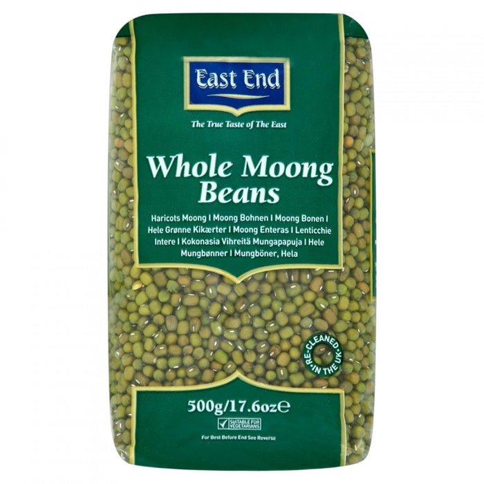 East End Whole Moong Beans 500g