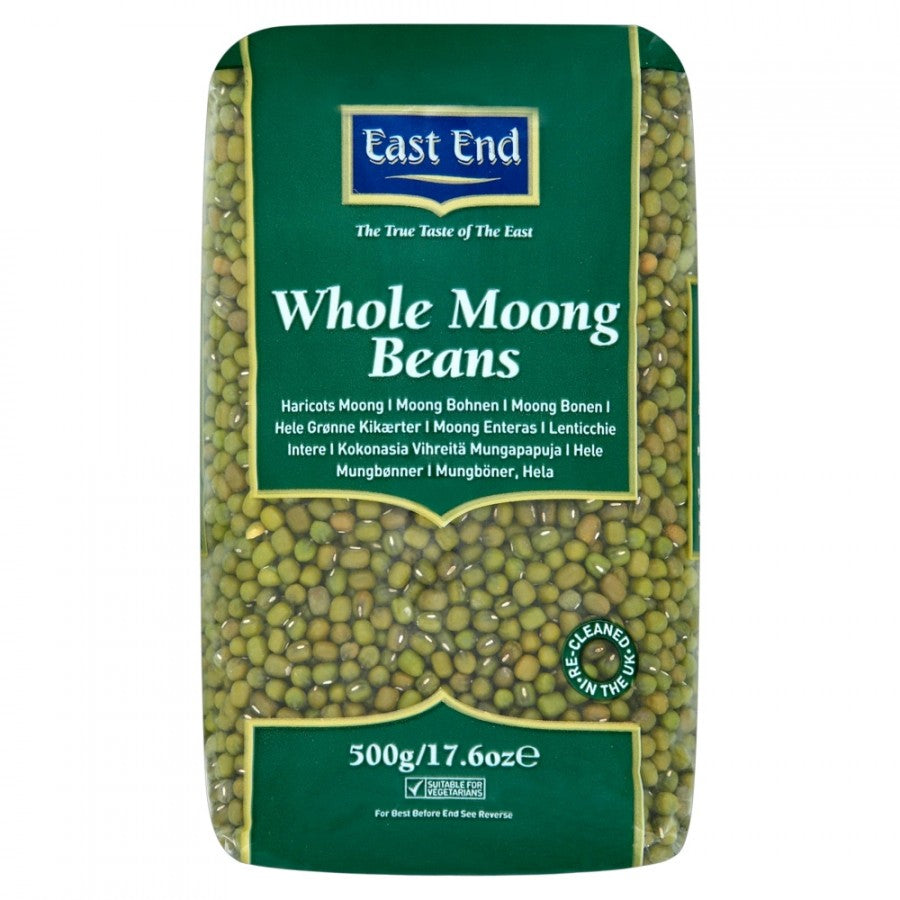 East End Whole Moong Beans, 500g