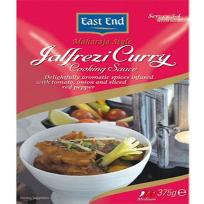 East End Jalfrezi Curry Cooking Sauce, 375g (Box of 6)