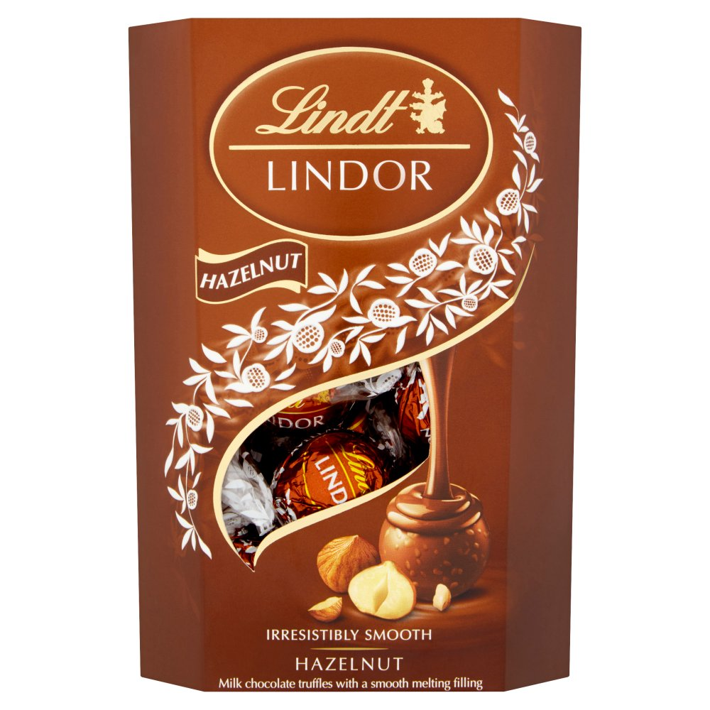 Lindor Hazelnut Cornet 200g (Pack of 8)