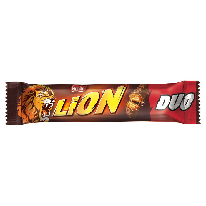 Lion Milk Chocolate Duo Bar, 60g (Box of 28)