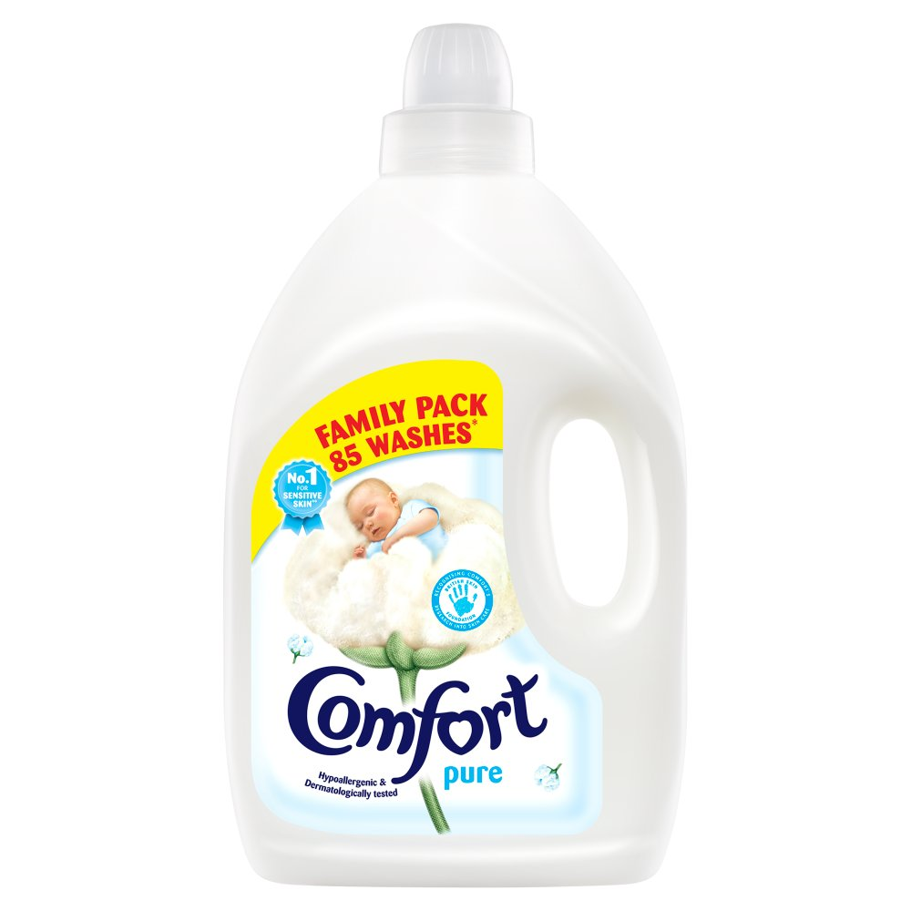 Comfort Pure Fabric Conditioner 85 Wash