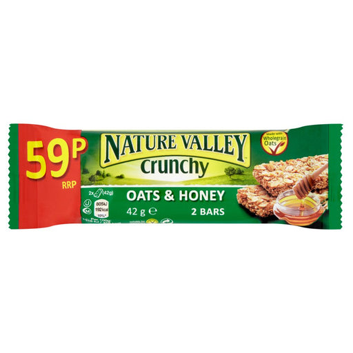 Nature Valley Crunchy Oats & Honey Cereal Bar