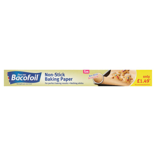 Bacofoil or Lifestyle Baking Paper 38cm x 5m