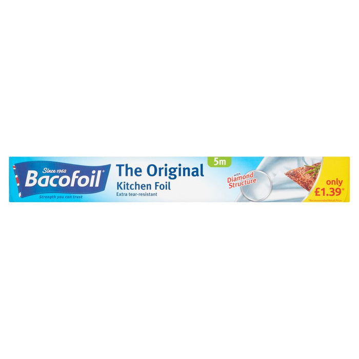 Bacofoil The Original Kitchen Foil 30cm x 5m