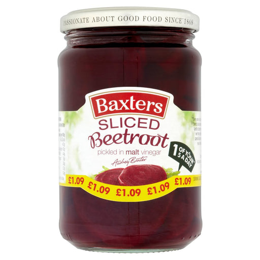 Baxters Sliced Beetroot