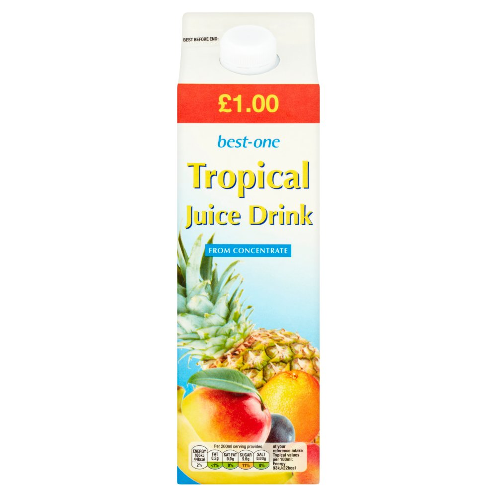 Best-One Tropical Juice, 1 Litre (Case of 12)