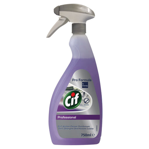 Cif 2 in 1 Cleaner Disinfectant 750ml