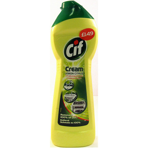 Cif Cream Lemon, 250ml