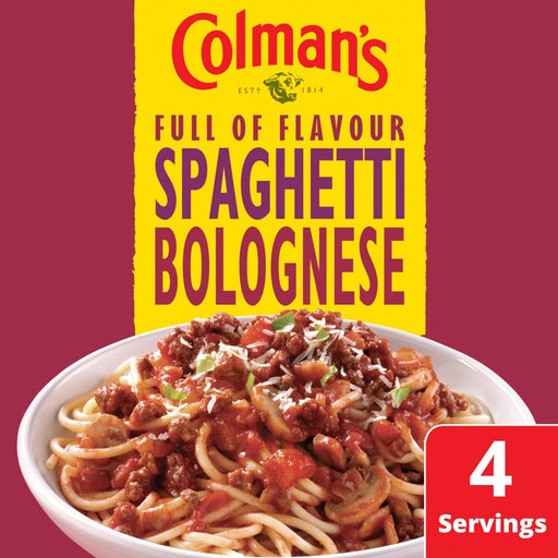 Colman's Spaghetti Bolognese Recipe Mix, 44g (Box of 10)