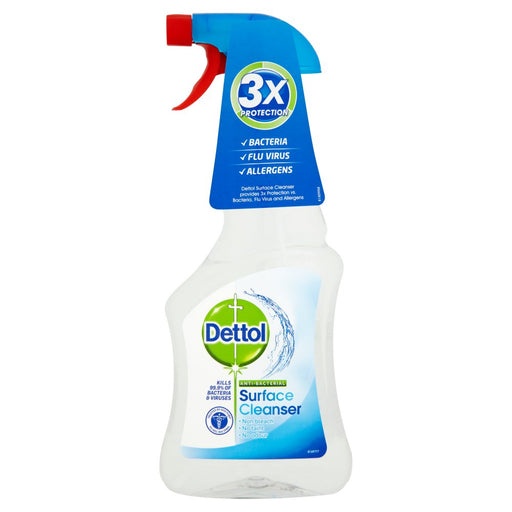 Dettol Antibacterial Spray Surface Cleanser, 500ml (Case of 6)