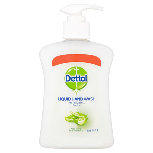 Dettol Liquid Hand Wash Anti-Bacterial Soothe Aloe Vera and Vitamin