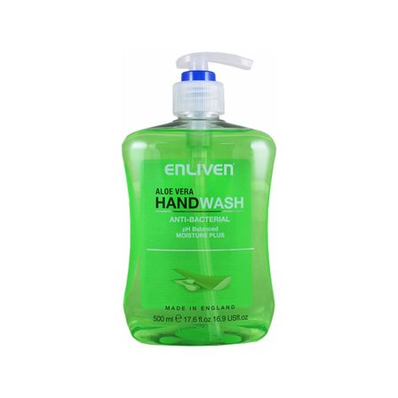 Enliven Aloe Vera Anti-Bacterial Handwash, 500ml
