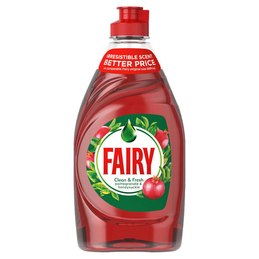 Fairy Liquid Pomegranate & Honeysuckle, 433ml (Case of 10)