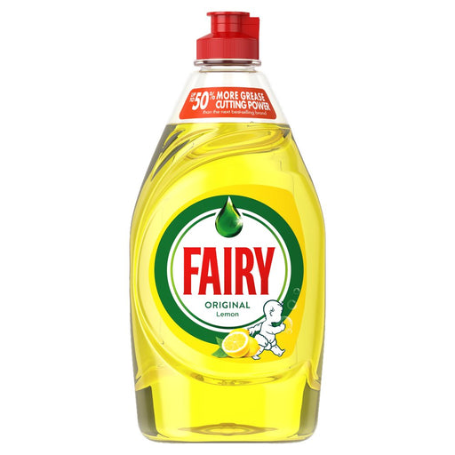 Fairy Original Washing Up Liquid Lemon
