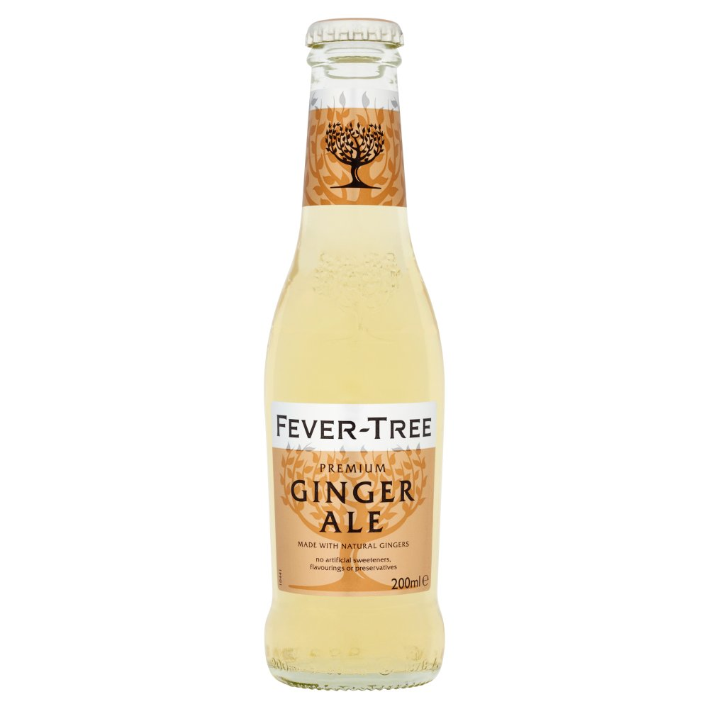 Fever-Tree Premium Ginger Ale, 200ml (Case of 24)