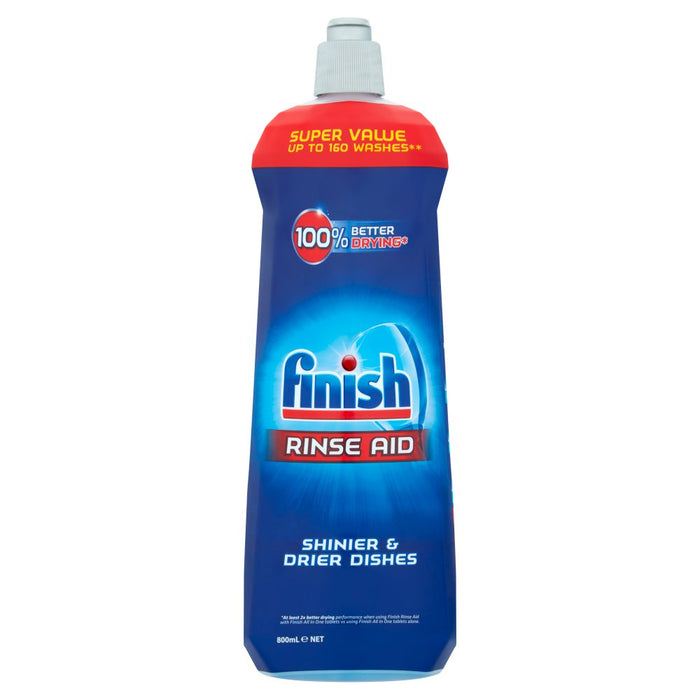 Finish Dishwasher Rinse Aid 800ml (Pack of 12)